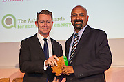 Greg Barker MP with Gyanesh Pandey, Husk Power, India