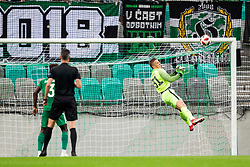 Aljaz Ivacic of NK Olimpija Ljubljana during 1st Leg football match between NK Olimpija Ljubljana and FC Crausaders in 2nd Qualifying Round of UEFA Europa League 2018/19, on July 26, 2018 in SRC Stozice, Ljubljana, Slovenia. Photo by Urban Urbanc / Sportida