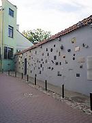 Literatu Gatve (Writer's Street), in Senamiestyje/Old Town, Vilnius, Lithuania