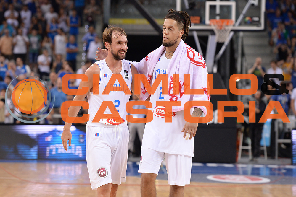 DESCRIZIONE: Torino FIBA Olympic Qualifying Tournament Semifinale Italia - Messico<br /> GIOCATORE: Gusepe Poeta Daniel Lorenzo Hackett<br /> CATEGORIA: Nazionale Italiana Italia Maschile Senior<br /> GARA: FIBA Olympic Qualifying Tournament Semifinale Italia - Messico<br /> DATA: 08/07/2016<br /> AUTORE: Agenzia Ciamillo-Castoria