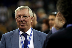Sir Alex Ferguson in the crowd during the NBA London Game 2018 at the O2 Arena, London.