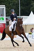Emmelie Scholtens - Santo Domingo<br /> FEI World Breeding Dressage Championships for Young Horses 2012<br /> © DigiShots