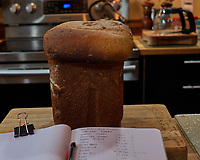 Making Bread -- Whole Wheat & Oatmeal. Image taken with a Leica CL camera and 18 mm f/2.8 lens.