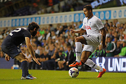 29.08.2013, White Hart Lane, London, ENG, UEFA CL Qualifikation, Tottenham Hotspur vs FC Dinamo Tiflis, Rueckspiel, im Bild Tottenham's Zeki Fryers during the UEFA Europa League Qualifier second leg match between Tottenham Hotspur and FC Dinamo Tiflis Zuerich at the White Hart Lane in London, England on 2013/08/29 . EXPA Pictures © 2013, PhotoCredit: EXPA/ Mitchell Gunn <br /> <br /> ***** ATTENTION - OUT OF GBR *****