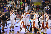 DESCRIZIONE : Roma Lega A 2012-13 Acea Roma Juve Caserta<br /> GIOCATORE : team<br /> CATEGORIA : curiosita ritratto esultanza<br /> SQUADRA : Acea Roma<br /> EVENTO : Campionato Lega A 2012-2013 <br /> GARA : Acea Roma Juve Caserta<br /> DATA : 28/10/2012<br /> SPORT : Pallacanestro <br /> AUTORE : Agenzia Ciamillo-Castoria/GiulioCiamillo<br /> Galleria : Lega Basket A 2012-2013  <br /> Fotonotizia : Roma Lega A 2012-13 Acea Roma Juve Caserta<br /> Predefinita :