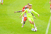 Sheffield United Callum Robinson (11) in action during the Pre-Season Friendly match between Barnsley and Sheffield United at Oakwell, Barnsley, England on 27 July 2019.