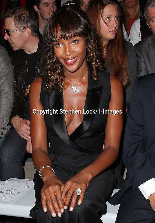 Naomi Campbell at the Toni & Guy fashion show on the eve of London Fashion Week , Thursday 15th September 2011 Photo by: Stephen Lock/i-Images