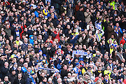 7,000 Brighton fans made the trip to Milton Keynes for the Sky Bet Championship match between Milton Keynes Dons and Brighton and Hove Albion at stadium:mk, Milton Keynes, England on 19 March 2016. Photo by Bennett Dean.
