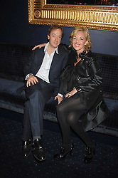 GEORDIE GREIG and AMANDA ELIASCH at a party to celebrate the publication of the 2007 Tatler Little Black Book held at Tramp, 40 Jermyn Street, London on 7th November 2007.<br />