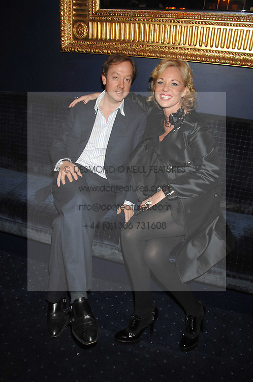 GEORDIE GREIG and AMANDA ELIASCH at a party to celebrate the publication of the 2007 Tatler Little Black Book held at Tramp, 40 Jermyn Street, London on 7th November 2007.<br /><br />NON EXCLUSIVE - WORLD RIGHTS