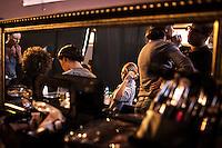 מאחורי הקלעים של תצוגת האופנה של מורין וולף ב שבוע האופנה<br /> ב מתחם התחנה ב תל אביב