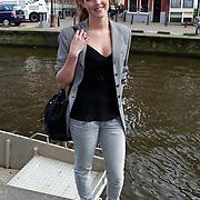"""NLD/Amsterdam/20100421 -  Presentatie Bastiaan van Schaik boek """"Koken met Modellen"""", Liza Sips"""
