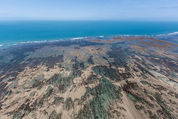 Aerial view of Adele Island on the Kimberley coast.