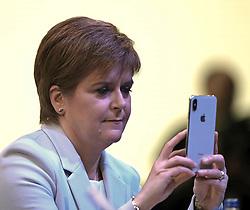 SNP Spring Conference, Saturday 27th April 2019<br /> <br /> Pictured: First Minister Nicola Sturgeon <br /> <br /> Alex Todd | Edinburgh Elite media