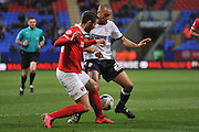 Bolton Wanderers midfielder, Darren Pratley (21) during the Sky Bet Championship match between Bolton Wanderers and Charlton Athletic at the Macron Stadium, Bolton, England on 19 April 2016. Photo by John Marfleet.