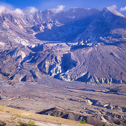 Mt. St. Helens from Johnston Ridge, Mt. St. Helens National Volcanic Monument, Washington, US
