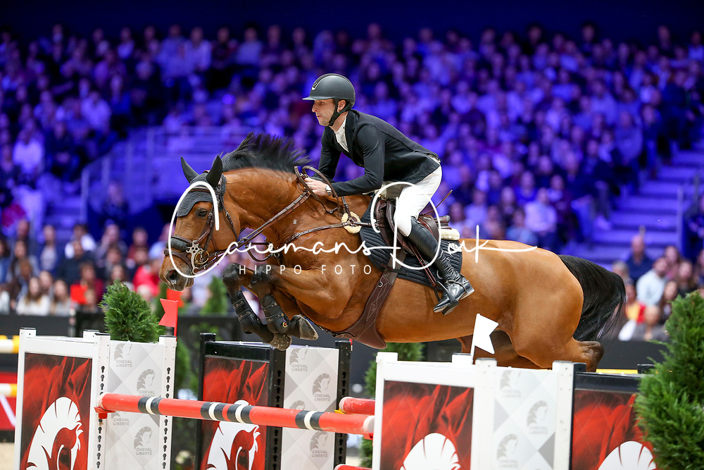 Devos Pieter, BEL, Claire Z<br /> LONGINES FEI Jumping World Cup™ - Lyon 2019<br /> © Hippo Foto - Julien Counet<br /> 03/11/2019
