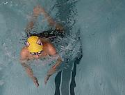 Concord-Carlisle freshman Aryaman Joshi swims breastroke in the 200 yard IM during the DCL meet at Atkinson Pool in Sudbury, Jan. 31, 2015.   (Wicked Local Photo/James Jesson)
