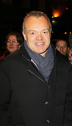 Graham Norton, Strangers On A Train - press night, Gielgud Theatre, London UK, 19 November 2013, Photo by Richard Goldschmidt © Licensed to London News Pictures. {date} Photo credit : Richard Goldschmidt/Piqtured/LNP