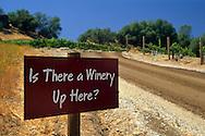 Twisted Oak Winery Murphys, Calaveras County, California