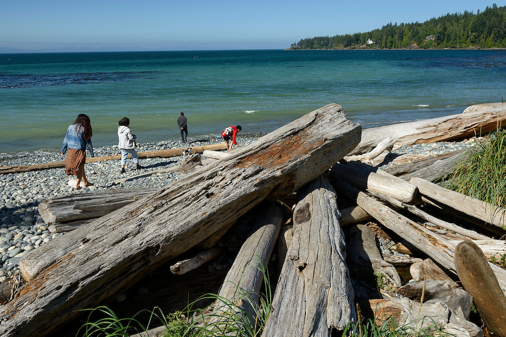 Canada, British Columbia, Vancouver Island French Beach, Provincal Park