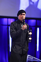 Taboo on stage during O2 Silver Clef Awards 2019, Grosvenor House, London, UK, Friday 05 July 2019<br /> Photo JM Enternational