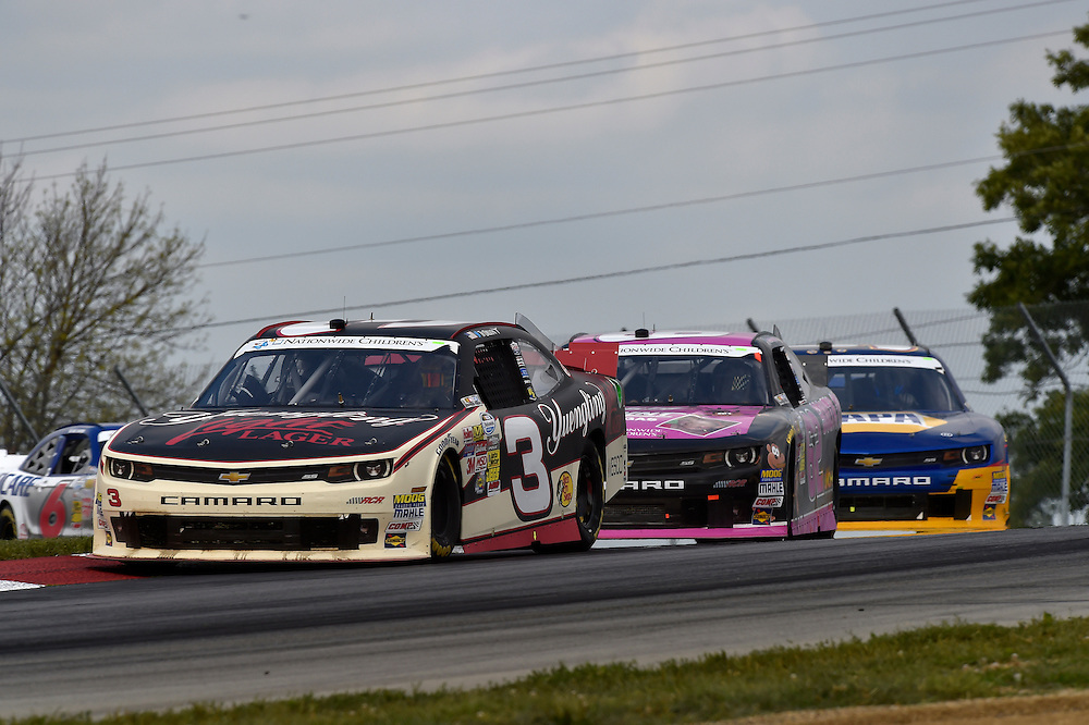 15-16 August, 2014, Lexington, Ohio USA<br /> Ty Dillon, Brendan Gaughan<br /> &copy;2014, Scott R LePage <br /> LAT Photo USA