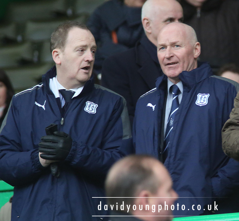 Scot Gardiner and John Brown - Celtic v Dundee,  at Celtic Park in the Clydesdale Bank Scottish Premier League.. - © David Young - www.davidyoungphoto.co.uk - email: davidyoungphoto@gmail.com