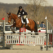 Skyeler Icke (USA) and Tika at the Morven Park Spring Horse Trials held in Leesburg, Virginia
