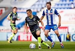 Billy Bodin of Bristol Rovers and Nick Powell of Wigan Athletic - Mandatory by-line: Matt McNulty/JMP - 16/09/2017 - FOOTBALL - DW Stadium - Wigan, England - Wigan Athletic v Bristol Rovers - Sky Bet League One