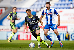 Billy Bodin of Bristol Rovers and Nick Powell of Wigan Athletic - Mandatory by-line: Matt McNulty/JMP - 16/09/2017 - FOOTBALL - DW Stadium - Wigan, England - Wigan Athletic v Bristol Rovers - Sky Bet League One