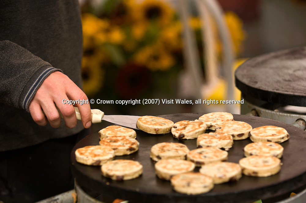 Welsh Cakes<br /> Abergavenny Food Festival 2007<br /> South<br /> Events