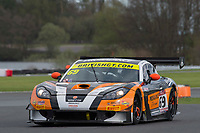 Century Motorsport #69 Ginetta G55 GT3 Harry Gottsacker/Nathan Freke GT3 Silver during British GT Championship as part of the BRDC British F3/GT Championship Meeting at Oulton Park, Little Budworth, Cheshire, United Kingdom. April 15 2017. World Copyright Peter Taylor/PSP.  Copy of publication required for printed pictures.  Every used picture is fee-liable. http://archive.petertaylor-photographic.co.uk