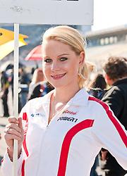 19.09.2010, Hockenheimring, Hockenheim, GER, IDM, Internationale Deutsche Motorradmeisterschaft, im Bild grig girl, EXPA Pictures © 2010, PhotoCredit: EXPA/ P. Rinderer