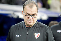 17.11.2012, Estadio Santiago Bernabeu, Madrid, ESP, Primera Division, Real Madrid vs Athletic Club Bilbao, 12. Runde, im Bild Athletic de Bilbao's coach Marcelo Bielsa // during the Spanish Primera Division 12th round match between Real Madrid CF and Athletic Club Bilbao at the Estadio Santiago Bernabeu, Madrid, Spain on 2012/11/17. EXPA Pictures © 2012, PhotoCredit: EXPA/ Alterphotos/ Alvaro Hernandez..***** ATTENTION - OUT OF ESP and SUI *****