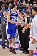 DESCRIZIONE : Campionato 2014/15 Serie A Beko Dinamo Banco di Sardegna Sassari - Acqua Vitasnella Cantu'<br /> GIOCATORE : Giorgi Shermadini<br /> CATEGORIA : Fair Play Before Pregame<br /> SQUADRA : Acqua Vitasnella Cantu'<br /> EVENTO : LegaBasket Serie A Beko 2014/2015<br /> GARA : Dinamo Banco di Sardegna Sassari - Acqua Vitasnella Cantu'<br /> DATA : 28/02/2015<br /> SPORT : Pallacanestro <br /> AUTORE : Agenzia Ciamillo-Castoria/L.Canu<br /> Galleria : LegaBasket Serie A Beko 2014/2015