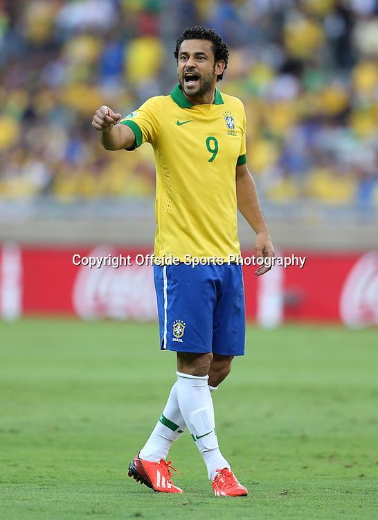 26th June 2013 - FIFA Confederations Cup 2013 (Semi-Final) - Brazil v Uruguay - Fred of Brazil - Photo: Simon Stacpoole / Offside.