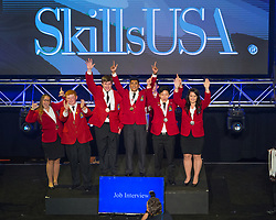 The 2017 SkillsUSA National Leadership and Skills Conference Competition Medalists were announced Friday, June 23, 2017 at Freedom Hall in Louisville. <br /> <br /> Job Interview<br /> <br /> Satyakrishna Polavarapu<br />   High School Somerset County Academy of Medical Sciences<br />   Gold Bridgewater, NJ<br /> Job InterviewJames Joh<br />   High School Westwood High School<br />   Silver Austin, TX<br /> Job InterviewSydney Green<br />   High School Maui High School<br />   Bronze Kahului, HI<br /> Job InterviewJacob Caughron<br />   College Grand River Tech School<br />   Gold Chillicothe, MO<br /> Job InterviewHeather McBroom<br />   College Gwinnett Technical College<br />   Silver Lawrenceville, GA<br /> Job InterviewCooper Eustis<br />   College Alexandria Technical & Community College<br />   Bronze Alexandria, MN