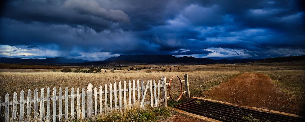 Approaching Storm, Hunter Valley, NSW, Australia