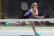 Century girls Kener / Forest playing in the Girls 4A State Doubles Championship match