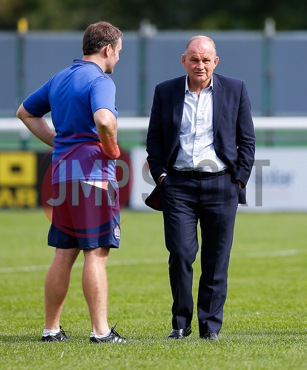Bristol Rugby Director of Rugby Andy Robinson looks on - Mandatory byline: Rogan Thomson/JMP - 07966 386802 - 13/09/2015 - RUGBY UNION - Old Deer Park - Richmond, London, England - London Welsh v Bristol Rugby - Greene King IPA Championship.
