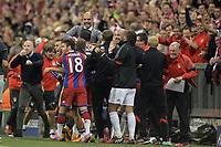 Fotball<br /> Tyskland<br /> 17.09.2014<br /> Foto: Witters/Digitalsport<br /> NORWAY ONLY<br /> <br /> 1:0 Jubel Jerome Boateng (Bayern)<br /> Fussball, Champions League, Gruppenphase, FC Bayern München - Manchester City 1:0
