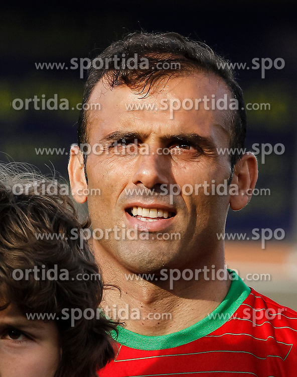 26.05.2014, Hartberg Stadion, Hartberg, AUT, FIFA WM, Testspiel, Iran vs Montenegro, im Bild Jalal Hosseini (IRN) // Jalal Hosseini (IRN) during friendly match between Iran and Montenegro for Preparation of the FIFA Worldcup Brasil 2014 at the Hartberg Stadium, Hartberg, Austria on 2014/05/26, EXPA Pictures © 2014, PhotoCredit: EXPA/ Erwin Scheriau