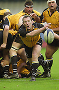 Wycombe. Buck's ENGLAND, Causeway Stadium.<br /> Zurich Premiership 11-11-2001<br /> London Wasps v Newcastle Falcons<br /> <br /> Newcastle's Gary Armstrong  [Mandatory Credit;Peter SPURRIER/Intersport Image]