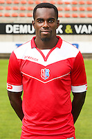 Teddy Mezague pictured during the 2015-2016 season photo shoot of Belgian first league soccer team Royal Mouscron Peruwelz, Thursday 16 July 2015 in Mouscron.