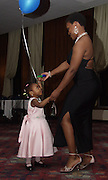 At OU visiting her brother, Quinna Howell dances with her daughter Bryanna Jackson at the 12th Annual Mom's Weekend Cabaret. Phi Beta Sigma Fraternity hosted the Cabaret which featured food, dancing and a live jazz band.