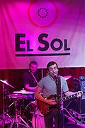 "Francisco Nixon (Ex Vocalist of Australian Bolonde Band) presents his album ""Lo malo que nos pasa"" (Siesta Records) at la Sala Sol, Madrid"