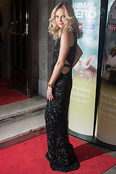 Grosvenor House Hotel, London, September 7th 2016. Celebrities attend the RSPCA's annual awards ceremony recognising the country's bravest animals and the individuals committed to improving their lives. PICTURED: Amanda Holden