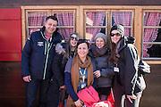 10.01.2015; Adelboden; Durst; Mitarbeiterzeitung Feldschloesschen; VIP-Gaeste am Ski Alpin Herren - Weltcup Adelboden 2015 - Riesenslalom (Raphael Huenerfauth/freshfocus)