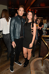 NAT WELLER and LEAH WELLER at a party to celebrate the opening of 100 Wardour Street, Soho, London on 28th January 2016.